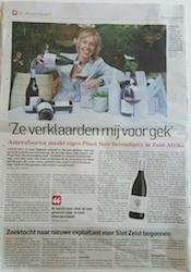 Pinot Noir Serendipity AD klein