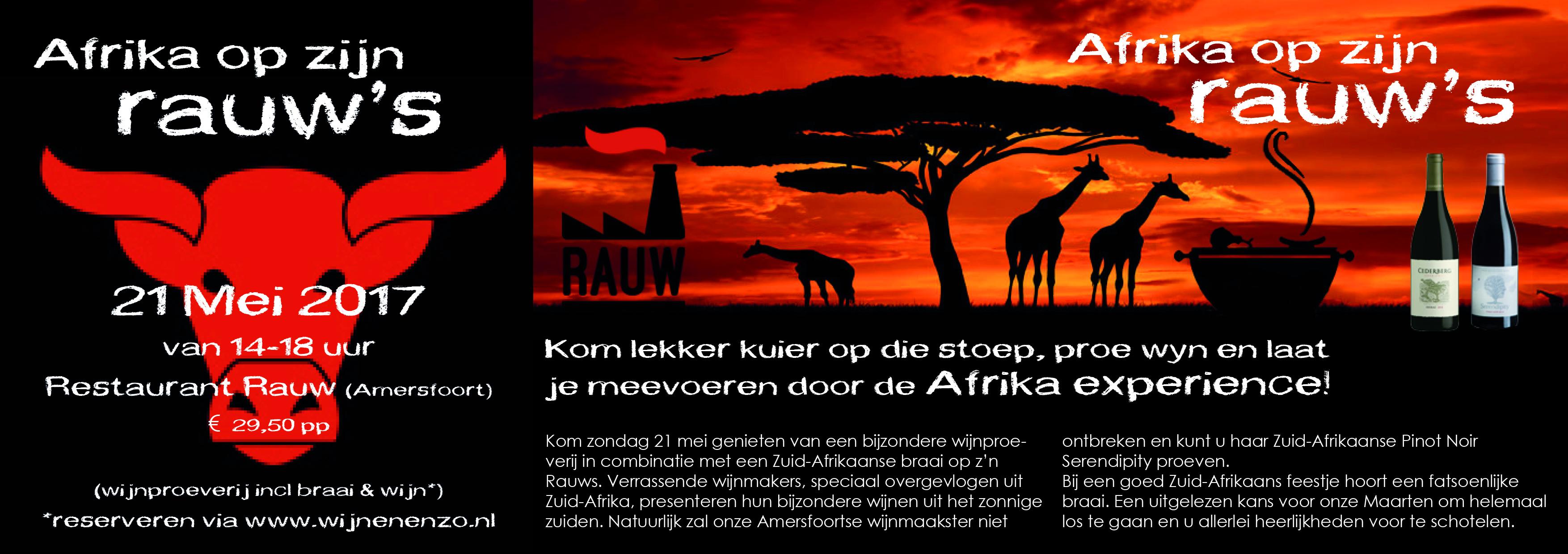 AFRIKA OP ZIJN RAUW'S-def